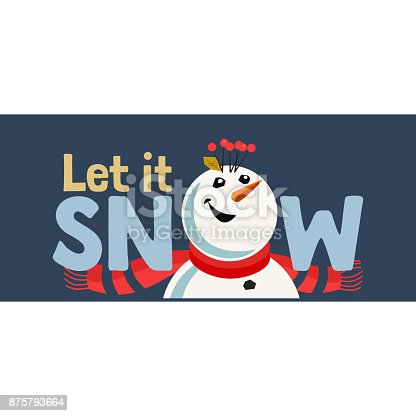 Holiday wishes Let it Snow