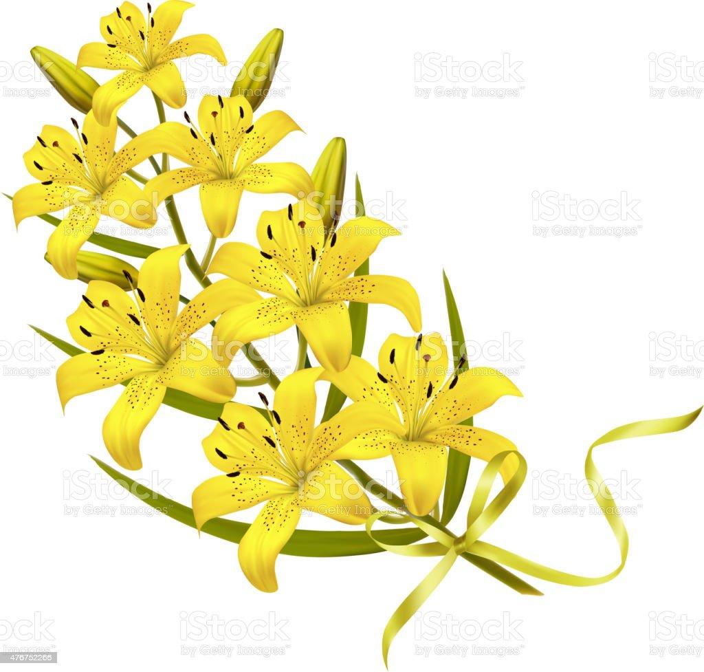 Holiday yellow flowers background vector stok vektr sanat 2015 holiday yellow flowers background vector royalty free holiday yellow flowers background vector stok mightylinksfo