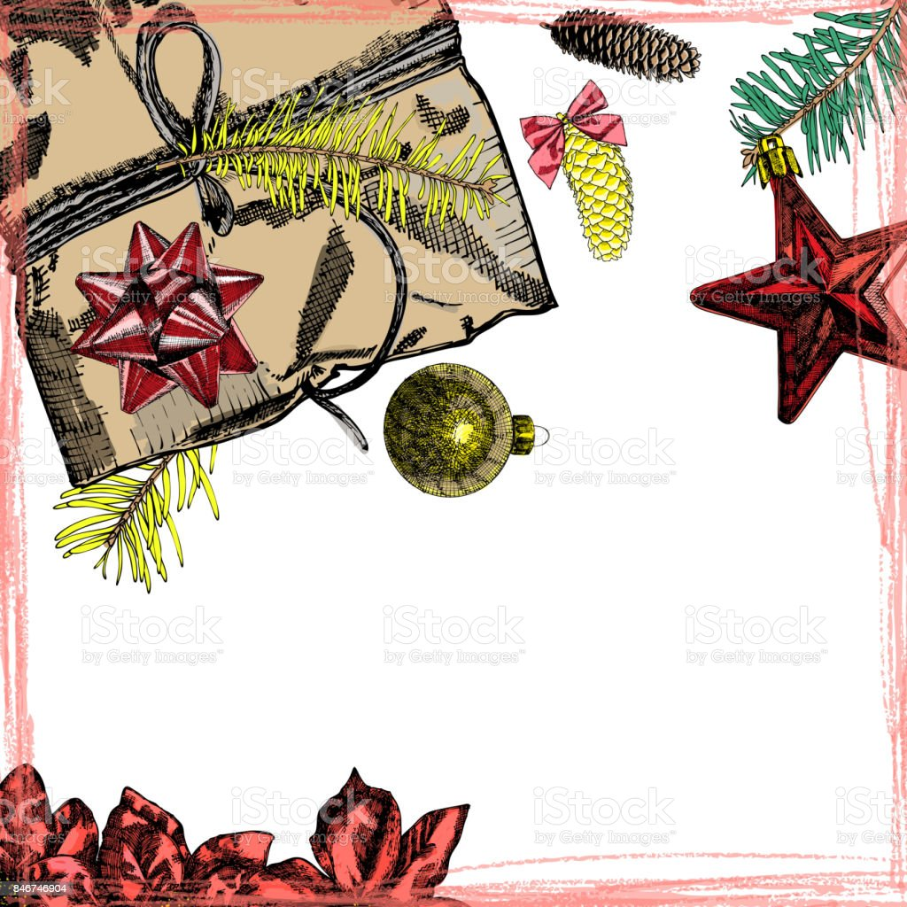 Holidays design template christmas and new year mock up for christmas and new year mock up for invitation text vector stopboris Choice Image