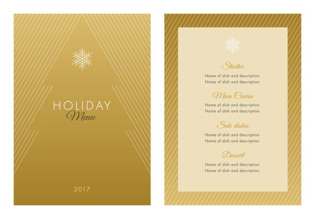 休日メニュー テンプレートです。 - ホリデーシーズンと季節のフレーム点のイラスト素材/クリップアート素材/マンガ素材/アイコン素材