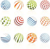 istock Hollow Sphere Design Elements 165744243