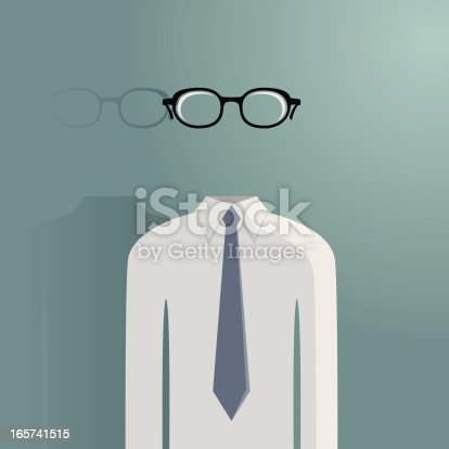 istock Hollow transparent man 165741515