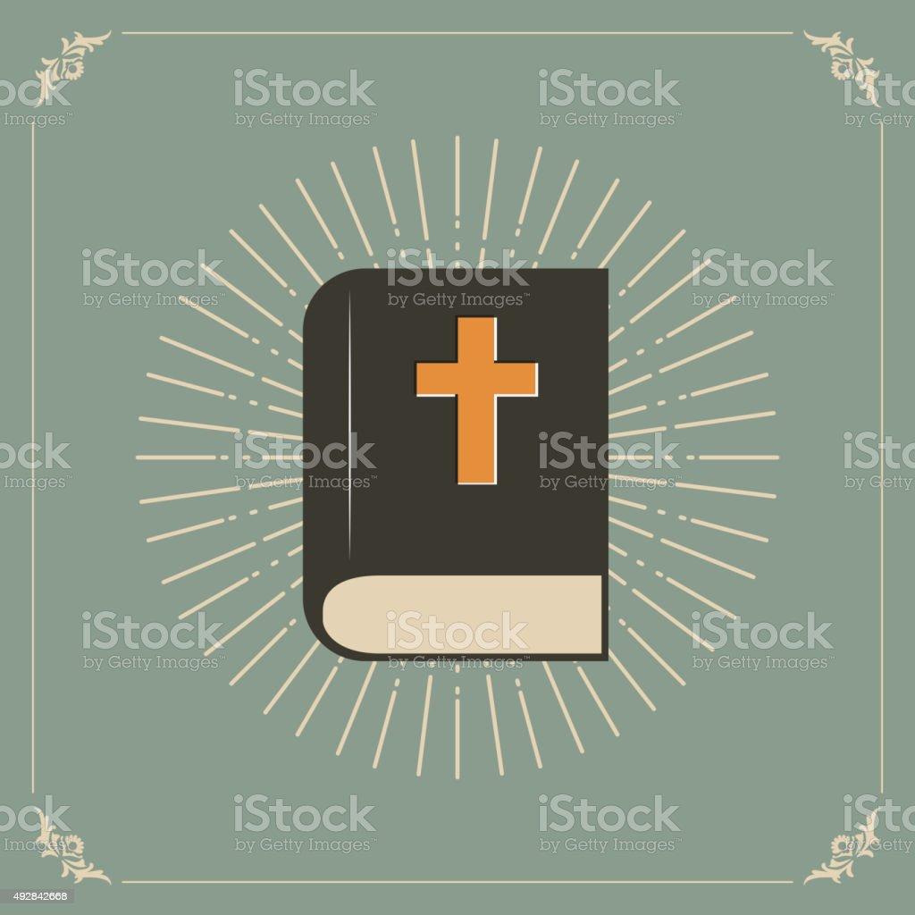 holly Biblia - ilustración de arte vectorial