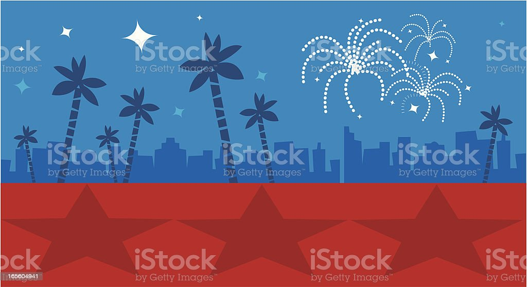 Royalty Free Hollywood Movie Red Carpet Background And