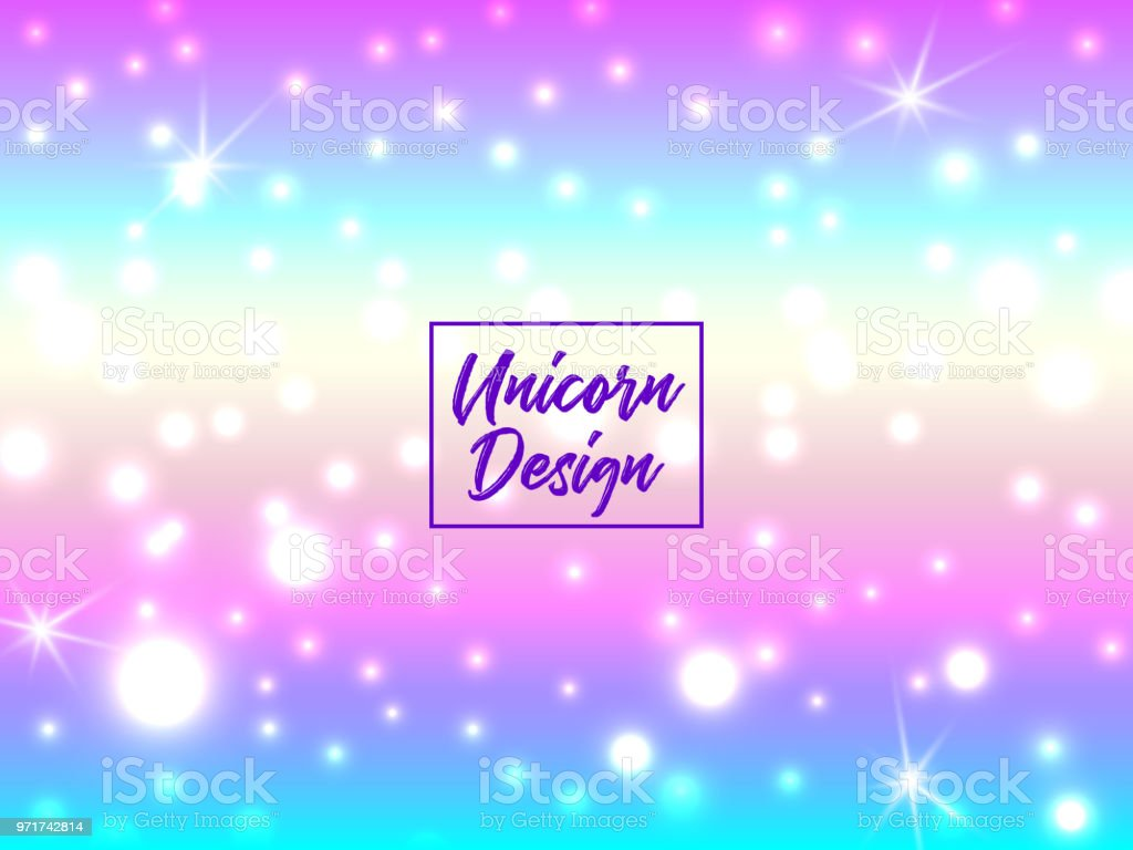 Hologen Colorful Abstract Background Cute Galaxy Fantasy