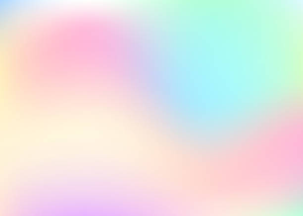 holographic abstract background. - kultura młodości stock illustrations
