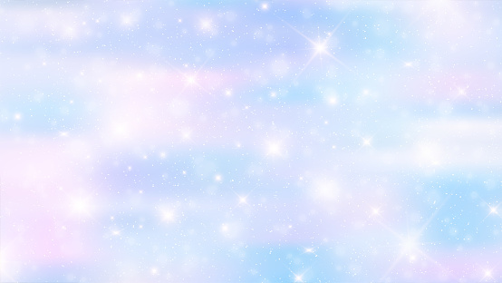 Holographic fairy background