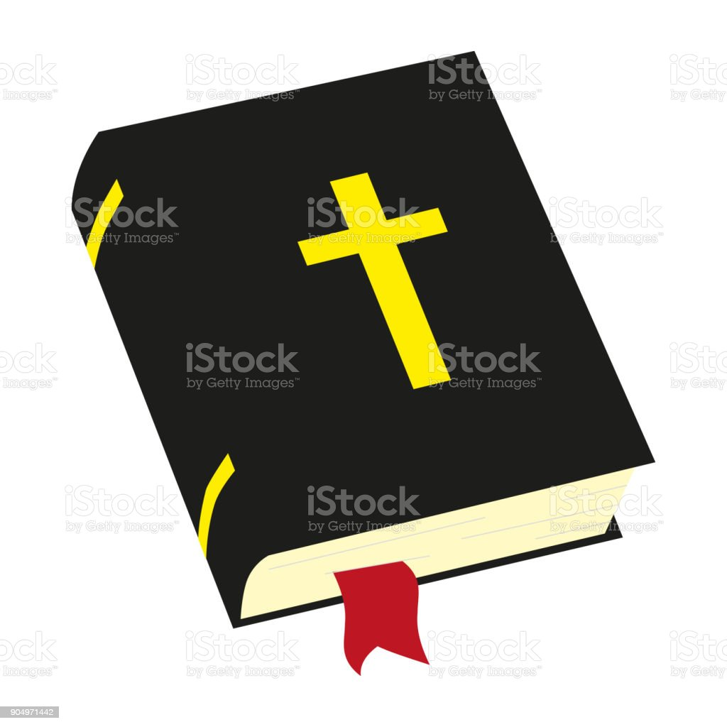 Holy Bible. Holy Book. The word of God. vector art illustration