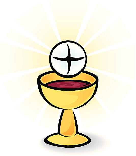 Royalty Free Eucharist Adoration Clip Art, Vector Images ...