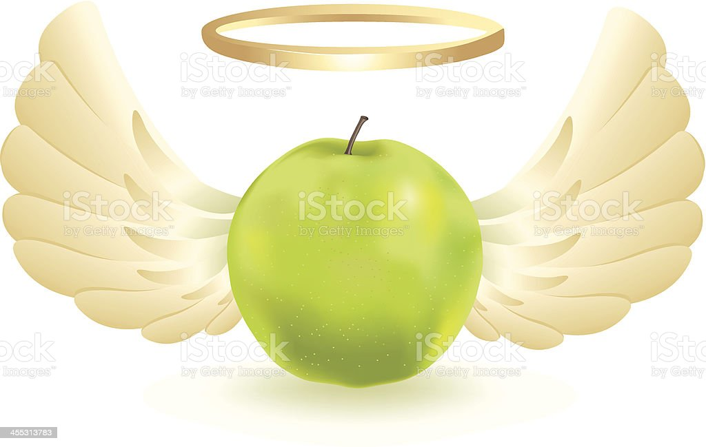 Holy Fruit vector art illustration