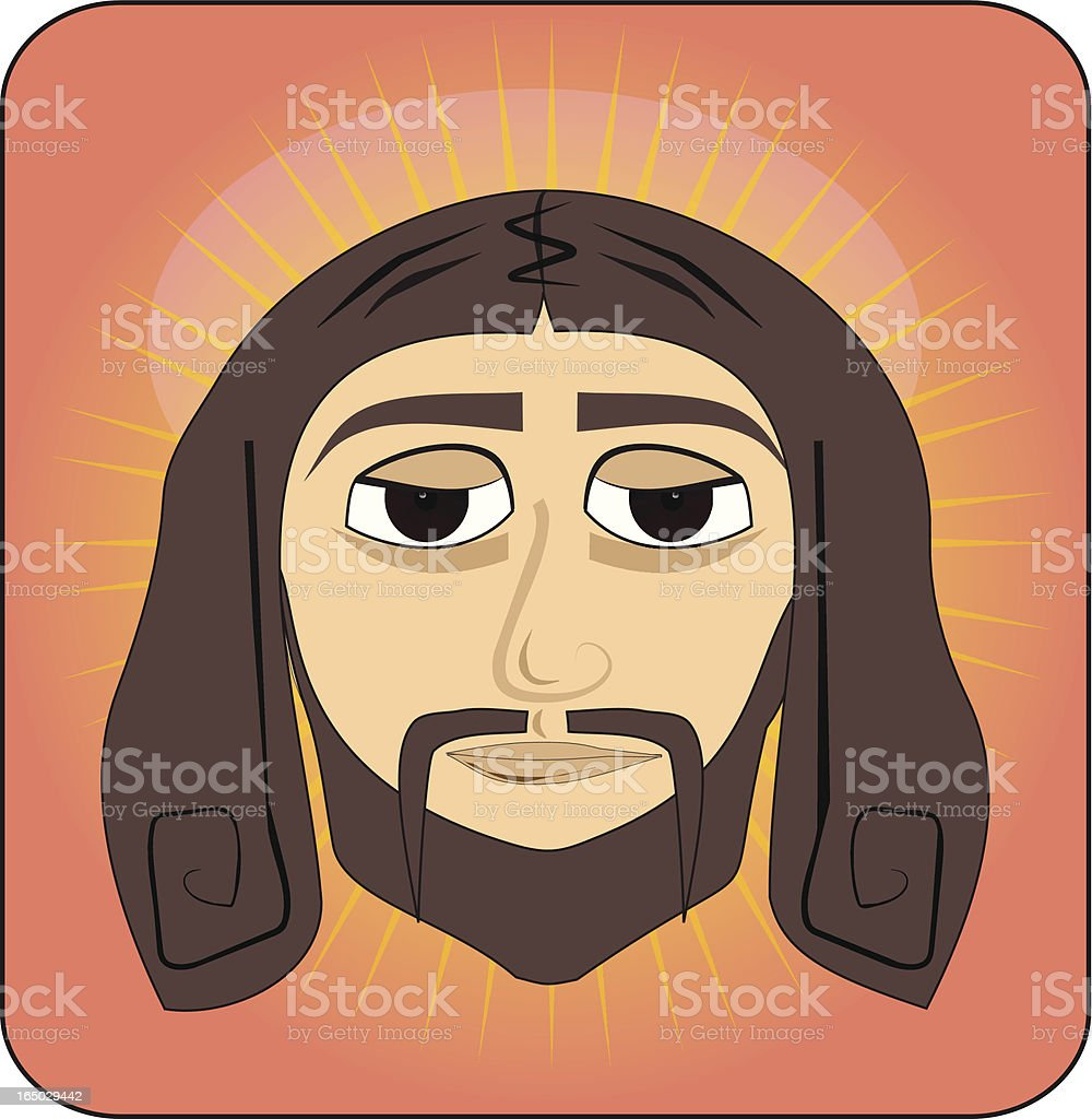 Holy vector art illustration