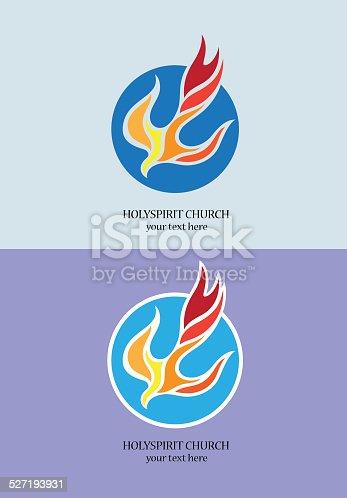 istock Holyspirit Church logo 527193931
