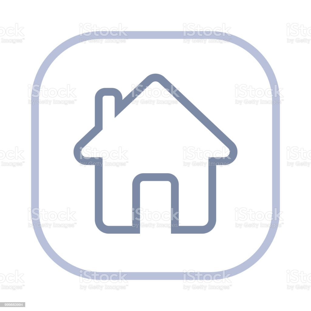 Home - Action Stroke Icons royalty-free home action stroke icons stock illustration - download image now