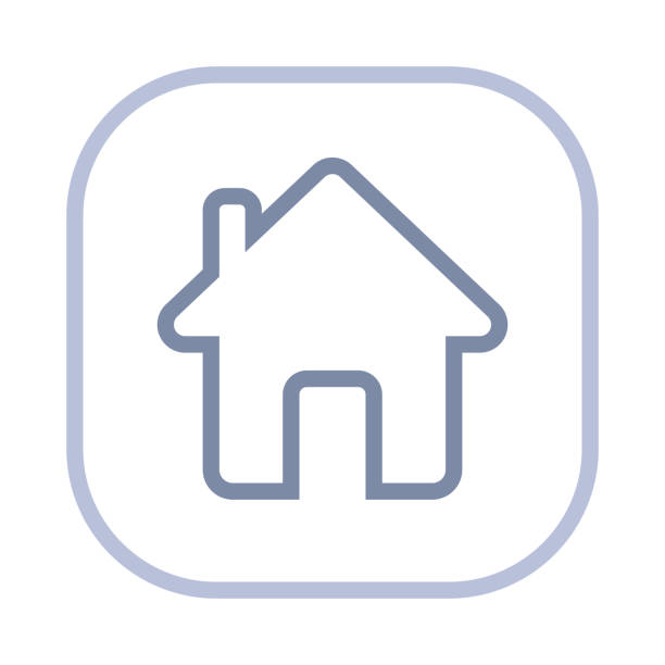 home - action stroke icons - home stock illustrations