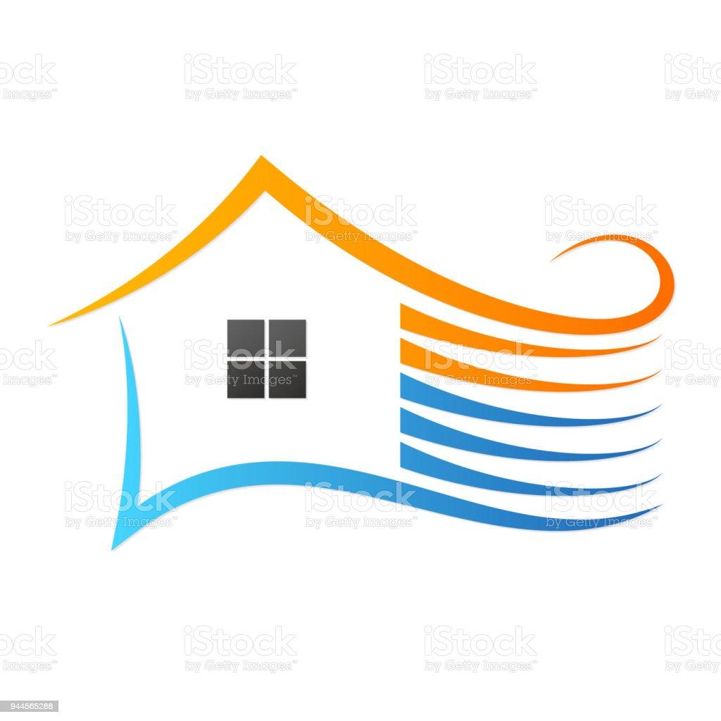 Haus Klimaanlage Design Stock Vektor Art Und Mehr Bilder Von