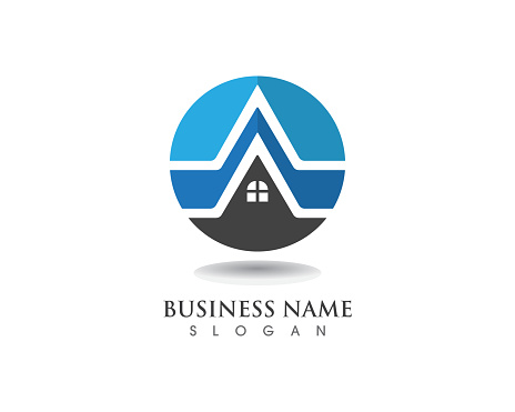 Home And Building Logo And Symbol Vector Stock Illustration - Download  Image Now