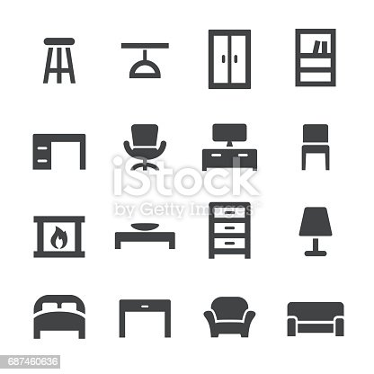 Home and Furniture Icons