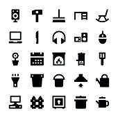 Home Appliances Vector Icons 5