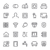 Smart home, house, home automation, icon, icon set, technology