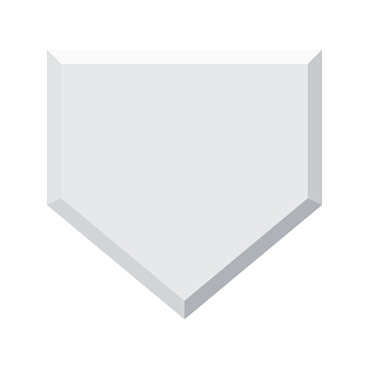 Home Base Icon on Transparent Background