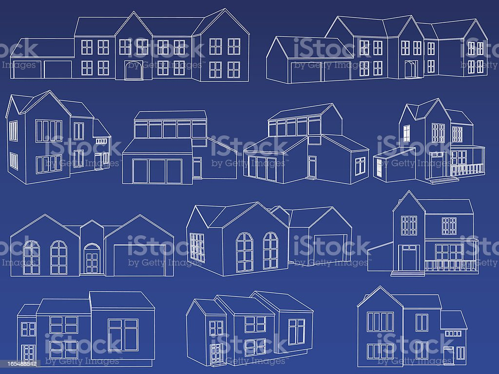 Home blueprint collection stock vector art more images of home blueprint collection royalty free home blueprint collection stock vector art amp more images malvernweather Gallery