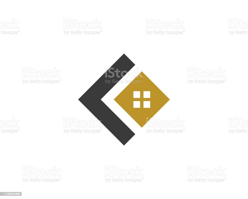 home buildings logo and symbols icons vector art illustration