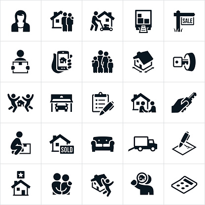 Home Buying Icons