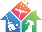 Home Cleaning. Cleaning Service. Building Cleaning