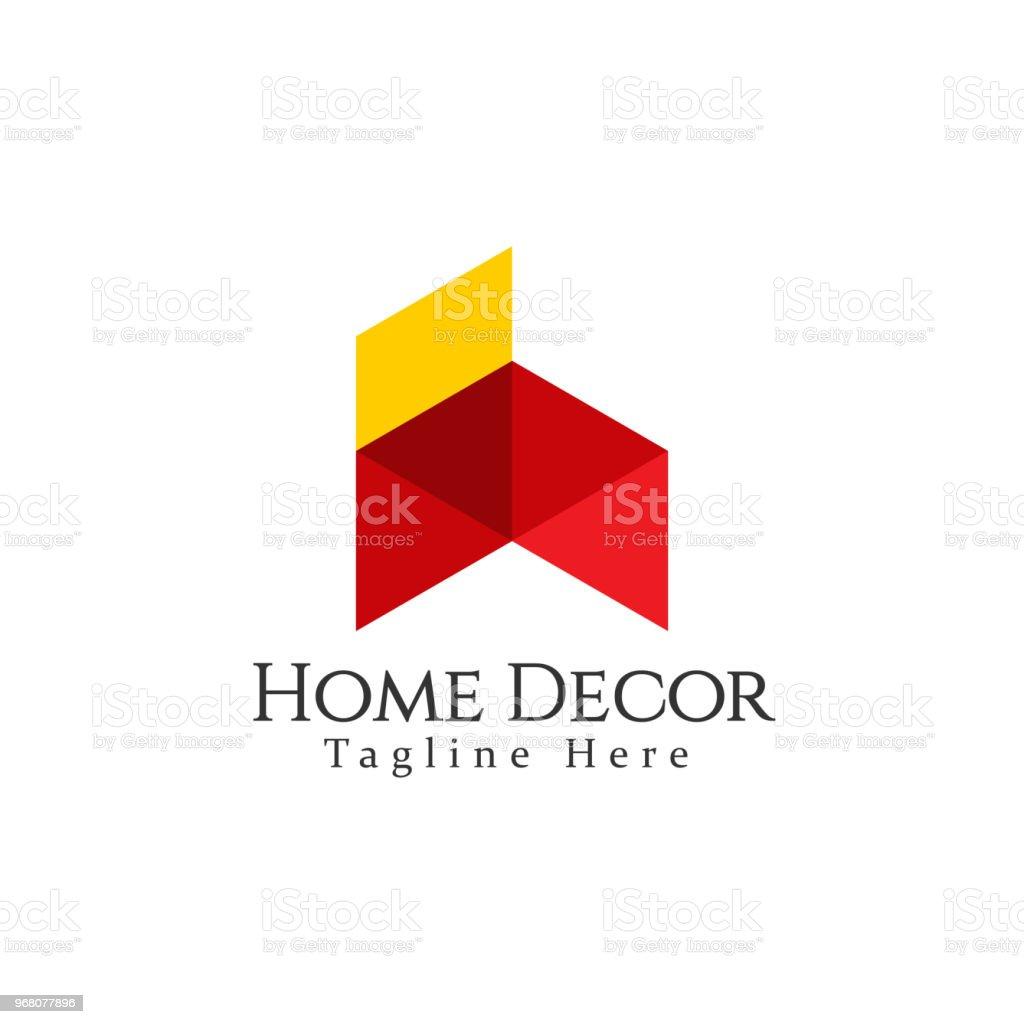 Home Decor Logo Vector Template Design Stock Vector Art More