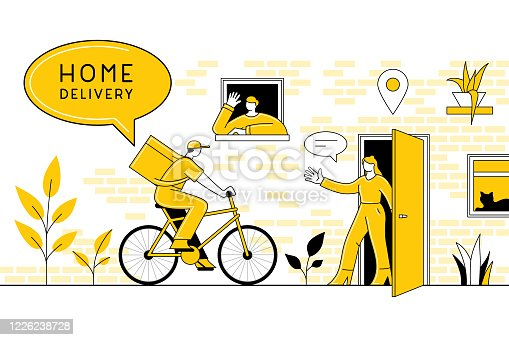 istock Home delivery concept 1226238728