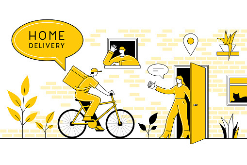 Home delivery concept