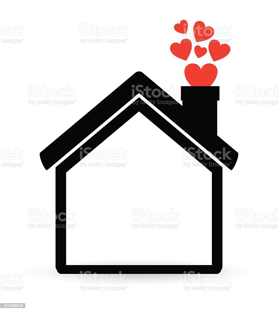 ... Home Design Vector Art Illustration ...