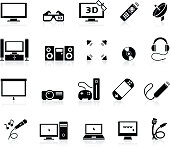 Home Entertainment icons