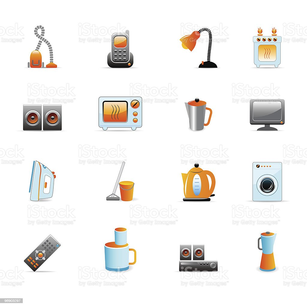 home equipment icons royalty-free home equipment icons stock vector art & more images of acoustic guitar