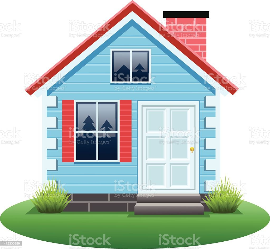Home Exterior royalty-free home exterior stock vector art & more images of building exterior