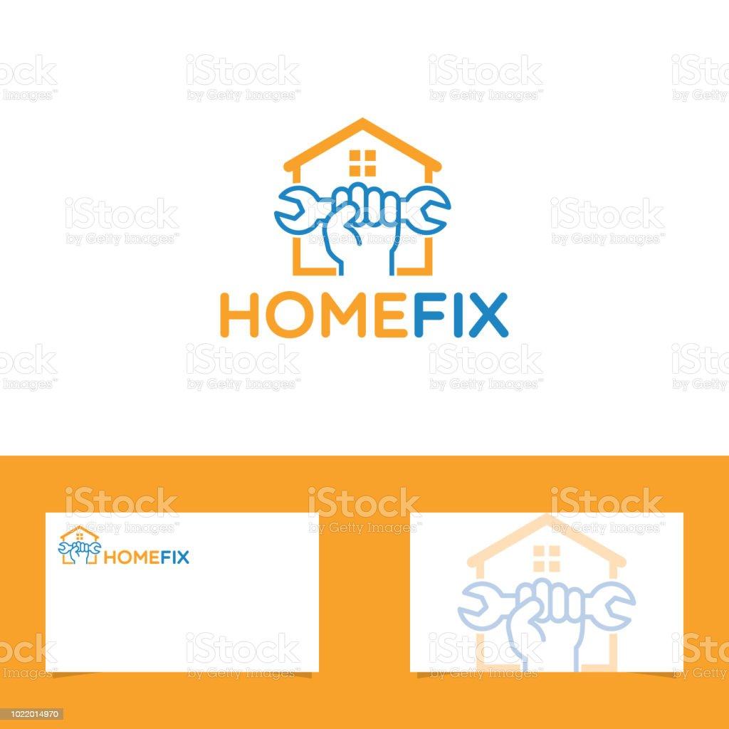 Concepts Et Thmes Construire Habitation Industrie Du Btiment Toit Difficult Accueil Logo Avec Le Modle De Carte Visite