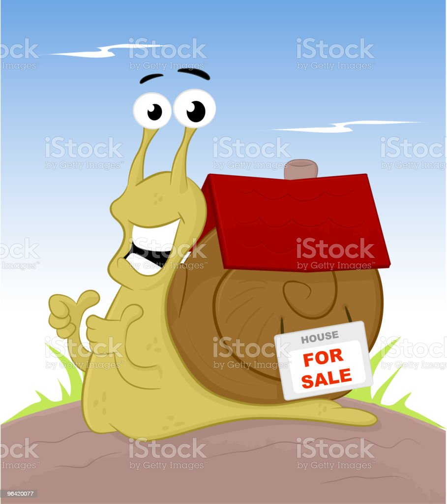 Home For Sale - Royalty-free Animal stock vector