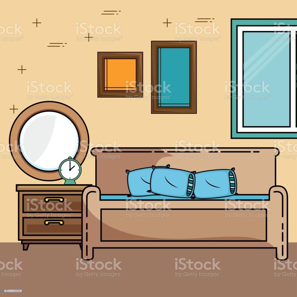 Home Möbeldesign Stock Vektor Art Und Mehr Bilder Von Architektur