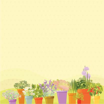 Home Garden Background