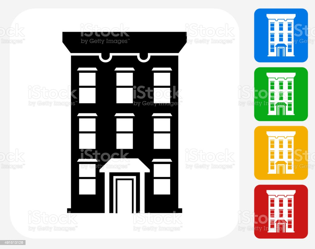 Home Icon Flat Graphic Design Stock Vector Art & More Images of 2015 ...