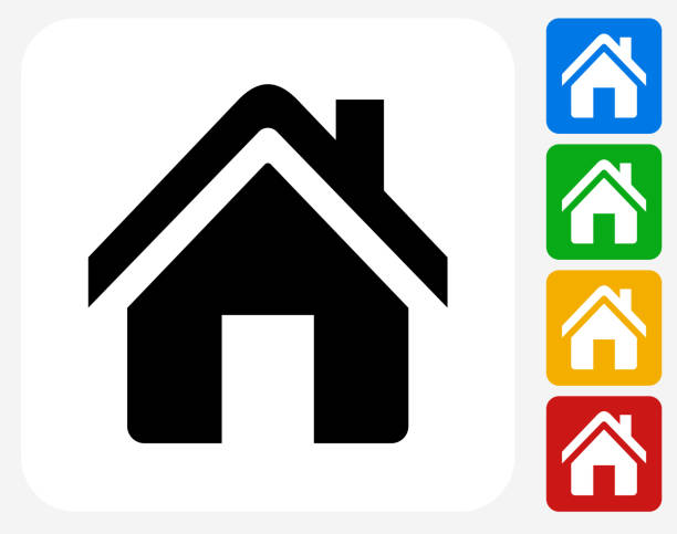 Royalty Free Residential Building Clip Art, Vector Images