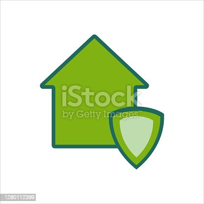 istock home icon. home icon with . home icon concept for mobile and web design, design element. home icon logo illustration. 1280112399