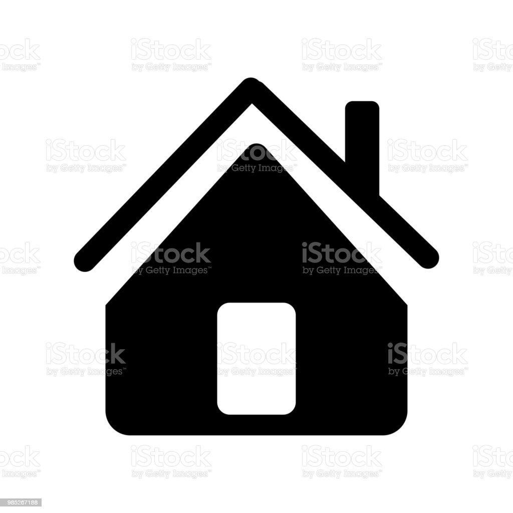 Home Icon Vector Icon Simple Element Illustration Home Symbol Design
