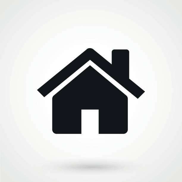 home-icon - landhaus stock-grafiken, -clipart, -cartoons und -symbole