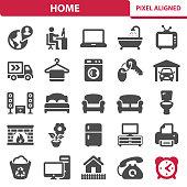 istock Home Icons 1037528994