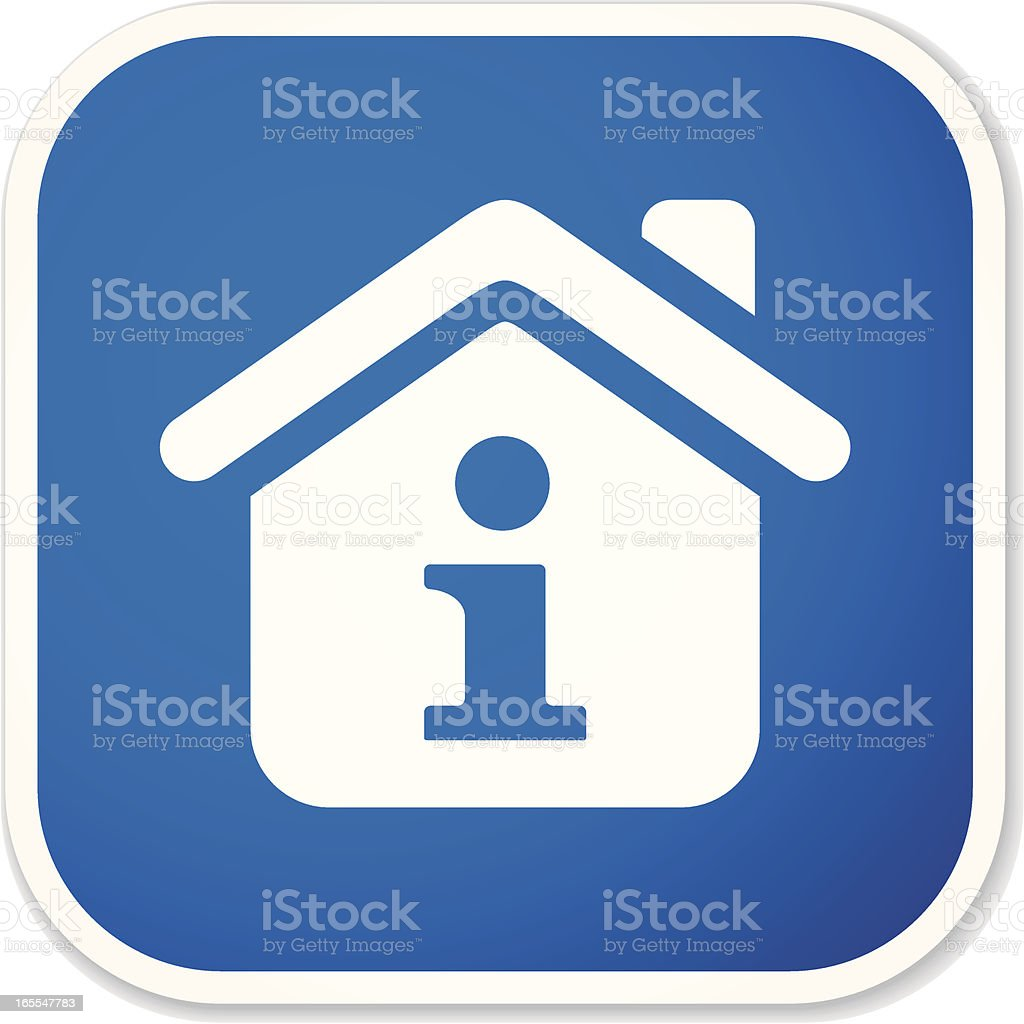 home info sq sticker royalty-free home info sq sticker stock vector art & more images of advice