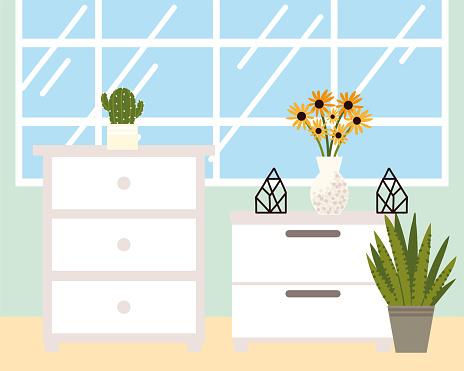 home interior drawers