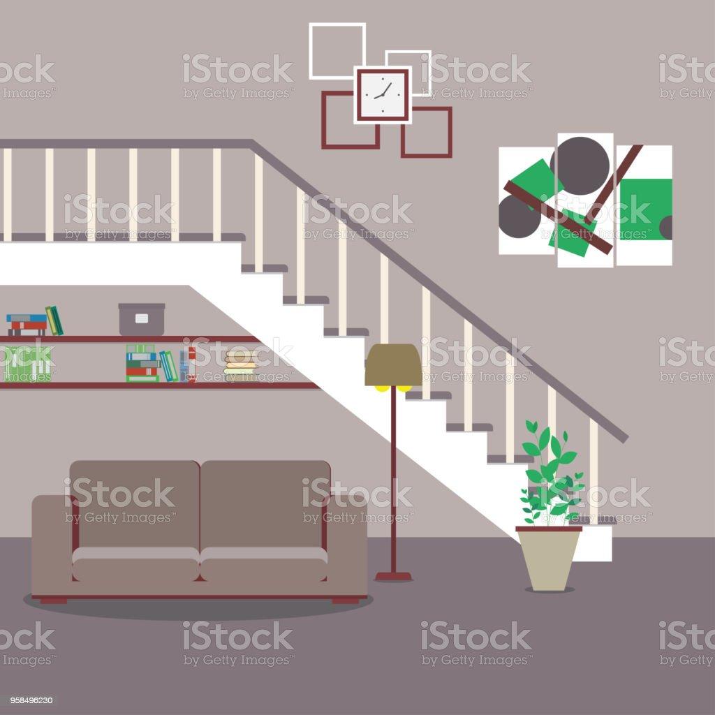 Amazing Sofa Befindet Sich Unter Der Treppe Sofa Befindet Sich Unter Der  With Mbel Unter Treppe