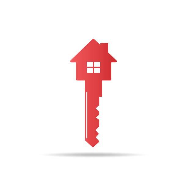 home keys vector vector art illustration