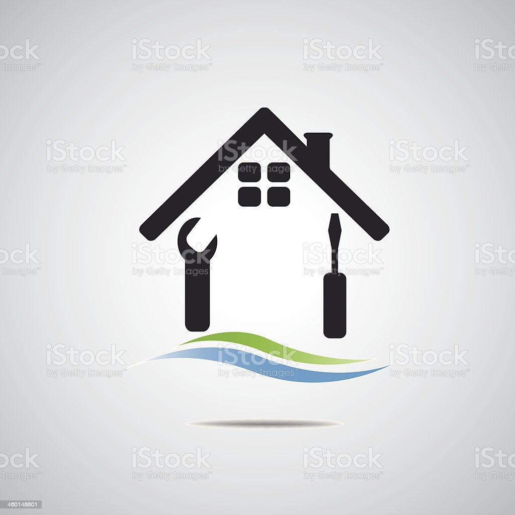 Home Logo Real estate icon royalty-free home logo real estate icon stock vector art & more images of abstract